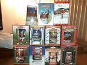 Budweiser Holiday Steins Lot Of 11