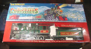 Bachmann Night Before Christmas 90037 G Scale Train Cars Set Controller No Track