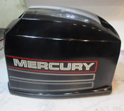 2198-9868a10 Mercury Mariner Outboard Top Engine Cover Cowl 30 Jet And 40hp 89-97