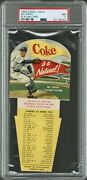 1952 Coca-cola Playing Tips Ed Lopat Psa 7 Nm Pop 4 Only 7 Higher