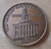 Old Dauphin County Court House Harrisburg Coin Club 1965/clarks Ferry Medal