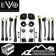 Evo Mfg 2.5 Boost Stage 4 For And03918-and03921 Jeep Wrangler Jl Jlu Evo-3001s4