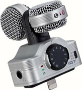 Zoom Iq7 Mid-side Stereo Microphone For Ios Devices By Zoom From Japan