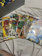 Classic Marvel And Dc Comic Books