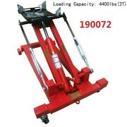 Top-grate 2t/4400lbs Hydraulic Low Lift Floor Transmission Jack 35.43--8.85