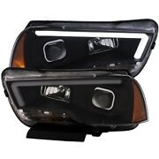 121524 Anzo Headlight Lamp Driver And Passenger Side New Lh Rh For Dodge Charger