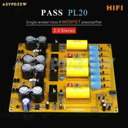 Pass Pl20 Stereo Single-ended Class A Hifi Mosfet Preamplifier Finished Board