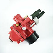 Red Carburetor For Dellorto Phbg19 Phbg 19 19mm Carb Motorcycle 2t Engine