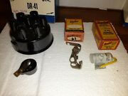 1941 1942 1946 1947 1948 Chevrolet Tune Up Kit Cap Rotor Points Condenser Usa