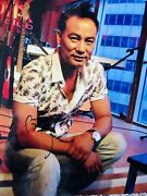 Simon Yam Tat Wah Signed 8x10 Photo - In Person Proof. Triad Election Ip Man.