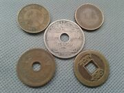 World 5 Old Coins 1917 Silver /1957/ 3 No Key-date Collection Lots