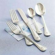 New Wallace Nautica Sailboat Stainless Flatware Set For 4 = 20 Pieces