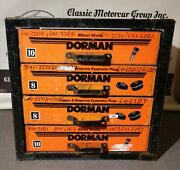 Dorman Vintage Auto Parts Service Station 4 Drawer Studs And Plugs Cabinet