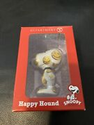 Dept 56 Snoopy By Design Happy Hound 2.5 2014 Smiley Face