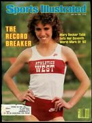 Si Sports Illustrated July 26 1982 Mary Decker Tabb Track And Field Very Good