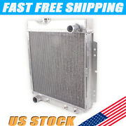 For 1960-1966 61 62 63 65 64 Ford Mustang /comet /falcon 3 Row Aluminum Radiator