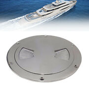6 Inch Stainless Steel Boat Marine Out Deck Plate Inspection Access Hatch Cover