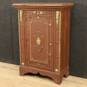 Cabinet Italian Furniture Sideboard Fake Safe Painted Wood Antique Style 900