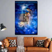Birth Of Jesus Christianity Religion And Jesus Canvas Art Print For Wall Decor