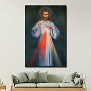 Divine Grace Of Jesus Christianity Religion And Jesus Canvas Art Print For Wall