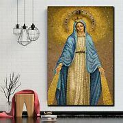 Mary Comforter Of The Afflicted Christianity Religion And Jesus Canvas Art Print