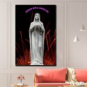 Mary Ark Of The Covenant Christianity Religion And Jesus Canvas Art Print For Wa