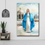 Mary Mother Of Good Counsel Christianity Religion And Jesus Canvas Art Print For