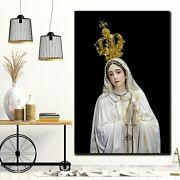 Mary Mother Of The Church Christianity Religion And Jesus Canvas Art Print For W