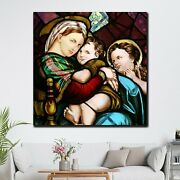 Mary Mirror Of Justice Christianity Religion And Jesus Canvas Art Print For Wall