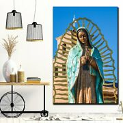Our Blessed Lady Of Guadalupe Christianity Religion And Jesus Canvas Art Print F