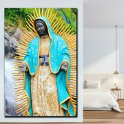 The Virgin Of Guadalupe Christianity Religion And Jesus Canvas Art Print For Wal