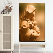 Mary Mother Of Perpetual Help Christianity Religion And Jesus Canvas Art Print F