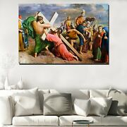 The Crucifixion Of Christ Christianity Religion And Jesus Canvas Art Print For W