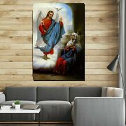 The Annunciation Of The Blessed Mary Christianity Religion And Jesus Canvas Art