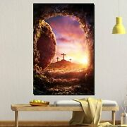 The Resurrection Of Jesus Christianity Religion And Jesus Canvas Art Print For W