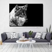 Grey Wolf Wolves And Wolf Canvas Art Print For Wall Decor
