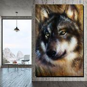 Pretty Wolf Wolves And Wolf Canvas Art Print For Wall Decor