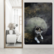 Werewolf Wolves And Wolf Canvas Art Print For Wall Decor