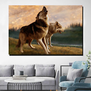 Mountain Wolves Wolves And Wolf Canvas Art Print For Wall Decor