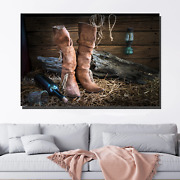 Wine Bottle Boots And Guitar Beer Whiskey And Wine Canvas Art Print For Wall Dec