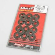Manley 42337-16 Valve Spring Locators Inside Steel .062 In. Thick 1.625 In. New