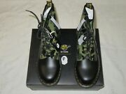 A Bathing Ape X Dr Martens 1460 Zip Camo Smooth 25989271 Menand039s Us Size 11
