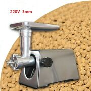220v 650w Andphi3.0mm Stainless Steel Electric Animal Feed Food Pellet Machine Newest