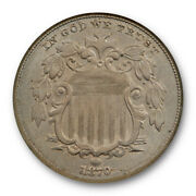 1870 5c Shield Nickel Ngc Ms 63 Uncirculated Better Date Old Holder Tough