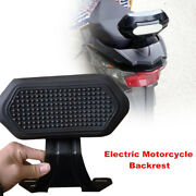 1pcs Motorcycle Electric Scooter Refit Backrest Back Support For Universal Bikes