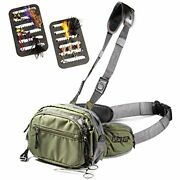 Vixyn Fly Fishing Chest Pack Waist - Lightweight Fanny And Tackle Storage Hip