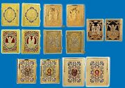 Orthodox Metal Craft Epistle Cover Gold Plated With Greek Book - Various Styles
