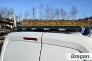 To Fit Volkswagen Caddy 15+ Stainless Black Rear Roof Bar + Multi-function Leds