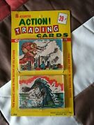 1963 Monster Magic Action Pack With 8 Cards And 2 Viewers