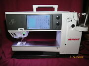 Bernina 830 Sewing Embroidery Machine Extension Table Lots Of Extras Gh2118